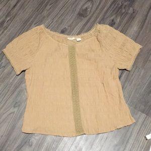 Andrew & Co Plus Size 2x camel